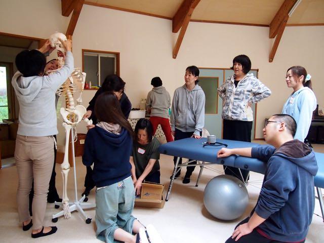 エサレンマッサージ&エサレンボディワーク 骨模型