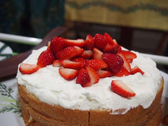 エサレンボディワーク ケーキ