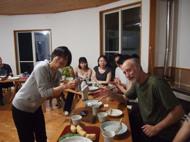 エサレンボディワーク 女神山ライフセンター食堂