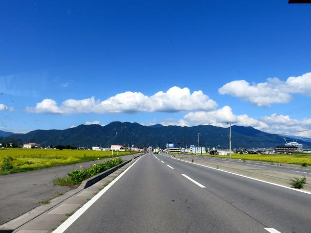 女神山ドライブ