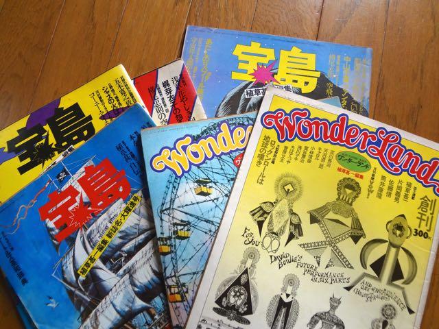 雑誌宝島です。