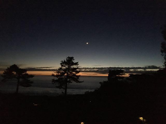 ビックサーの夜空