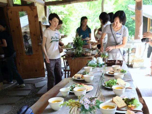 穂高養生園のマクロビオティックの美味しいご飯