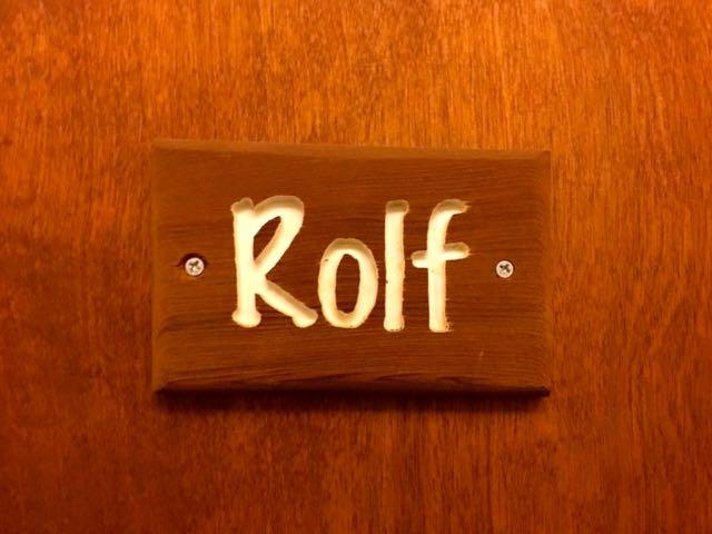 アイダ・ロルフを記念したロルフ