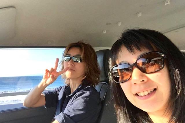 女神山ライフセンターまでドライブ