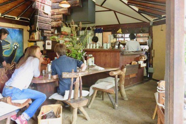 女神山のカフェ