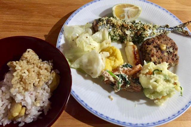 女神山ライフセンター 夕食